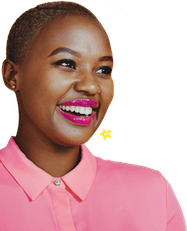 Smiling female educator