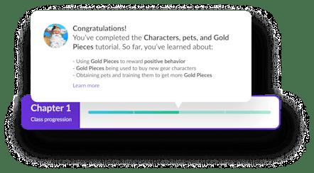 Classcraft progress bar