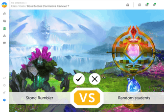 A fun and exciting formative review within Classcraft