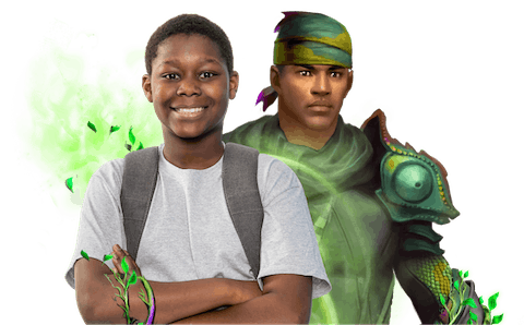 Middle schooler excited to start his adventure with Classcraft